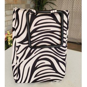Fit & Fresh Zebra Insulated Lunch Bag